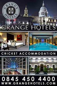 Grange Hotels - Cricket Accommodation