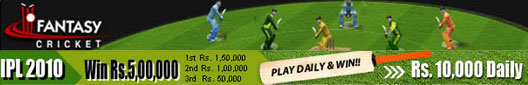 Play fantasy cricket and win cash prizes