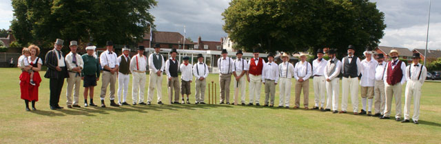 Lymington Sports Ground Anniversary Cricket Match