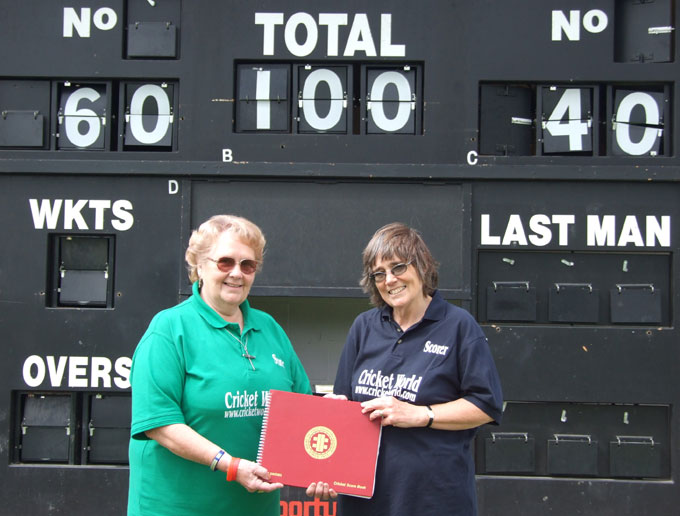Mary Blackburn & Heather Brown - 100 years of scoring