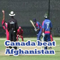 Canada beat Afghanistan