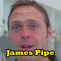 James Pipe talks to Cricket World® TV