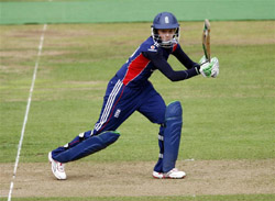 Sarah Taylor in action for England